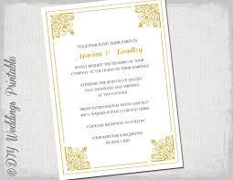 einladung goldene hochzeit vorlage goldene hochzeit einladung vorlage classic