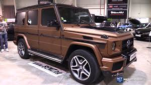 mercedes g class 2016 mercedes benz g class g63 exterior and interior walkaround