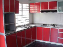 kitchen design aluminium features timber look cabinet created by