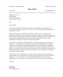 nursing cover letter example 10 free word pdf documents