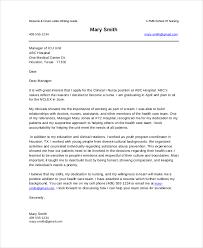 sample nursing cover letter example new grad nurse cover letter