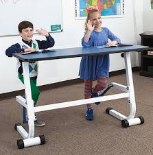 standing desk exercise equipment person standing desk w foot fidget