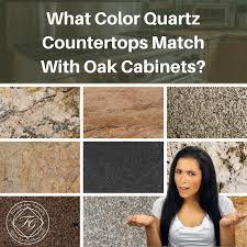 what color quartz with oak cabinets what color quartz countertops match with oak cabinets oak