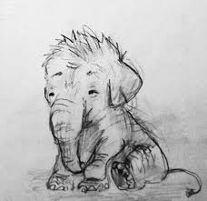elephant drawing drawing and tattoo ideas clipart library