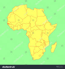 africa map gambia gambia vector map isolated on africa stock vector 301973366
