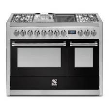 piano cuisine gaz piano de cuisson steel genesi 120 cm 2 fours g12ff 6m dcharby