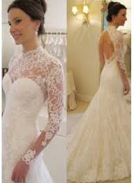 product search long sleeve lace mermaid wedding dress wholesale