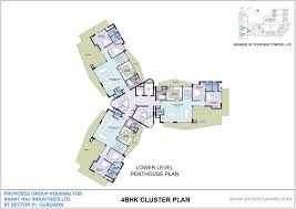 luxury penthouse floor plan awesome interior