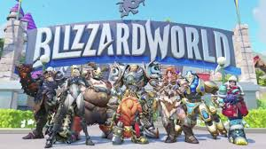 World Map Game Overwatch U0027s Blizzard World Map Is A Theme Park Based On Blizzard Games