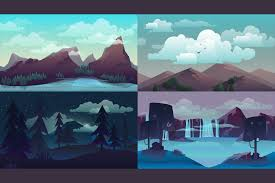 free horizontal 2d game backgrounds craftpix net