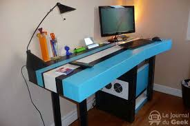 fabriquer un bureau informatique un bureau en journal du