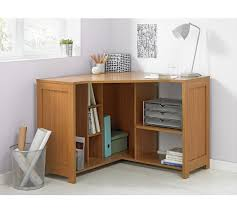 Corner Oak Desk Buy Home Conrad Corner Desk Oak Effect At Argos Co Uk Your