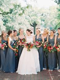 slate blue bridesmaid dresses columbia wedding by landon jacob and rourke slate
