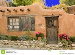 santa fe style house cabaña de adobe casas en barro pinterest adobe house