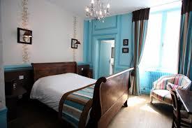 chambre marron et turquoise deco chambre bleu et marron ides