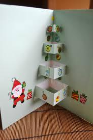 pop up christmas tree card kids steam lab