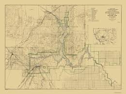 Topographical Map Of United States by Topographical Map Boulder Canyon Project Nevada 1940