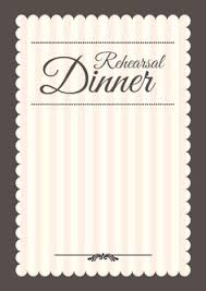 Wedding Rehearsal Dinner Invitations Templates Free Elegant Setting Free Printable Rehearsal Dinner Party Invitation