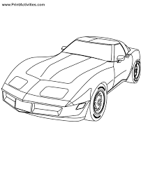 car coloring pages print kids coloring