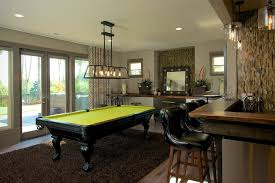 Pool Table In Living Room Living Room With Pool Table Family Room Transitional With