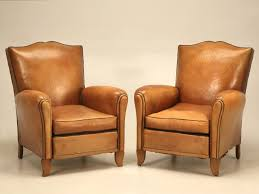Leather Chairs For Sale Chair Pair Leather Moustache Club Chairs For Sale French Deco