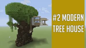 minecraft bathroom designs building minecraft modern tree house youtube arafen