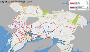 Tripadvisor Map Top Ten Bike Projects Coming To Oakland East Bay Express