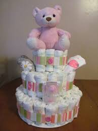 talented terrace girls diy thursday diaper cake tutorial