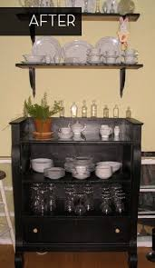 How To Turn A Dresser Into A Bookshelf 58 Best Repurposing Dressers Drawers Images On Pinterest