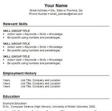 What To Put On A Resume For First Job by I Need A Resume For A Job