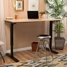 dual desk office ideas furniture office latitude run kursk adjustable dual powered desk