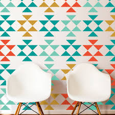 Design Wall Stickers Mid Century Triangles Wall Sticker Aliexpress Com Sutter
