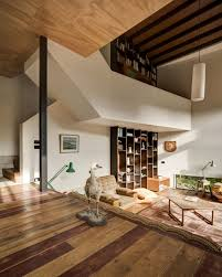 Living Room Decorating Ideas Split Level Tall Dark And Handsome 4 Split Level Home In Auckland