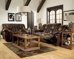 reclining sofa and loveseat set blake walnut reclining sofa loveseat and rocker recliner set sofas