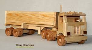 wooden truck toy toy maker gerry hannigan