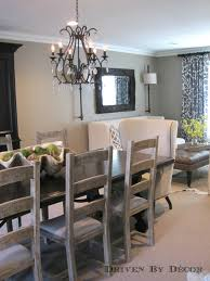 Decorating Ideas For Dining Rooms Dining Room Design Ideas Mixed Seating Driven By Decor