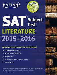 kaplan sat subject test literature 2015 2016 ebook by kaplan test