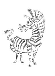 12 pics of marty the zebra coloring pages marty zebra madagascar