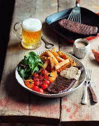 cuisine steak steak peppercorn sauce avant garde vegan