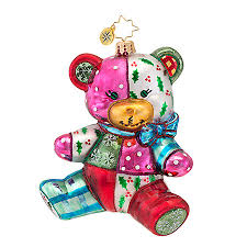 radko ornaments toys ornament patches