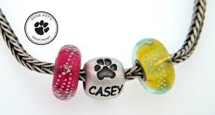 personalized paw print necklace 4 paws custom paw print jewelry
