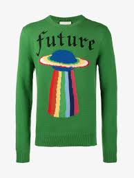 planet clothing gucci wool sweater with planet intarsia jumpers browns