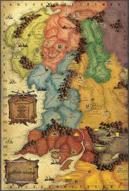a map of middle earth middle earth map 75x90 hexagons the battle for wesnoth forums
