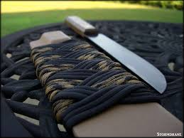 old hickory knife with paracord wrapped kydex sheath photo old hickory knife with paracord wrapped kydex sheath