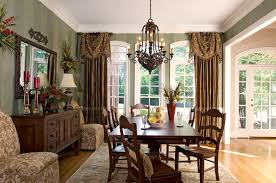 formal dining room window curtains dining room decor curtain