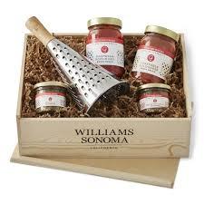 wedding gift spaghetti sauce giada pasta gift crate williams sonoma