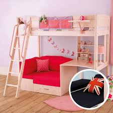 loft bed with couch and desk underneath loft bed with couch and