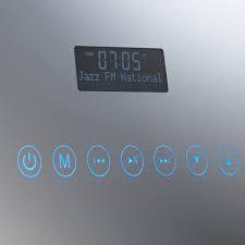 roper rhodes designer audio image dab radio bathroom mirror mle400