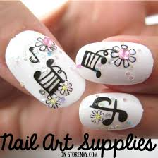 music note nail design nails gallery