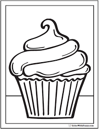 cupcake coloring pages to print cherry coloring pages to make kids happy inside peppa pig coloring